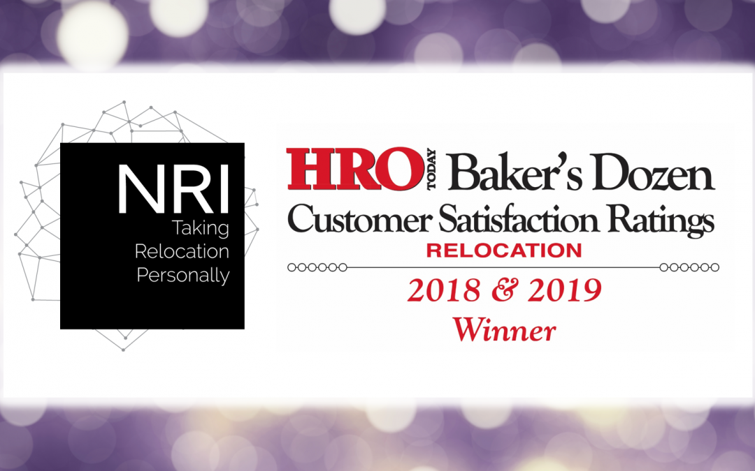 NRI Relocation Named a 2019 Top Corporate Relocation Services Company by HRO Today
