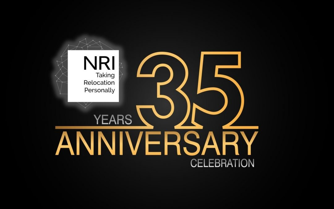 NRI Celebrates 35th Anniversary of Corporate Relocation Company Service Excellence